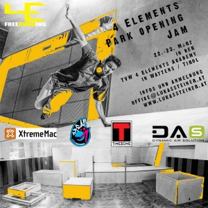 4elements - Indoor Park Opening