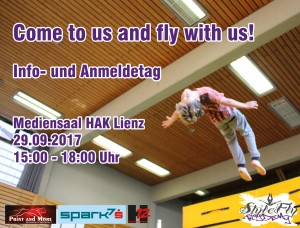 Come to us and Fly with us - Infoday
